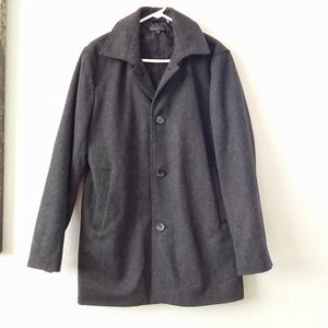 Kenneth Cole Wool Coat Size Mens M